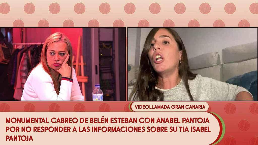 Belén Esteban brota contra Anabel Pantoja