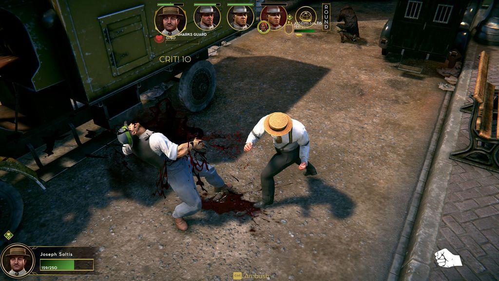 Saltis - Combat Screenshot 1