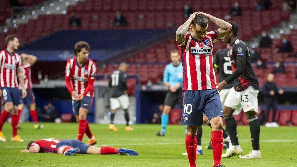 El Atlético de Madrid no cerró el partido y el Bayern lo aprovechó para rascar el empate (1-1)
