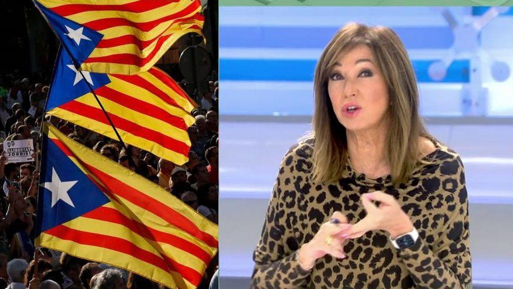 Ana Rosa habla sobre la situación del independentismo de Cataluña