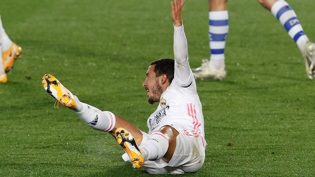Eden Hazard no volverá a jugar en lo que queda de 2020 tras su lesión ante el Alavés