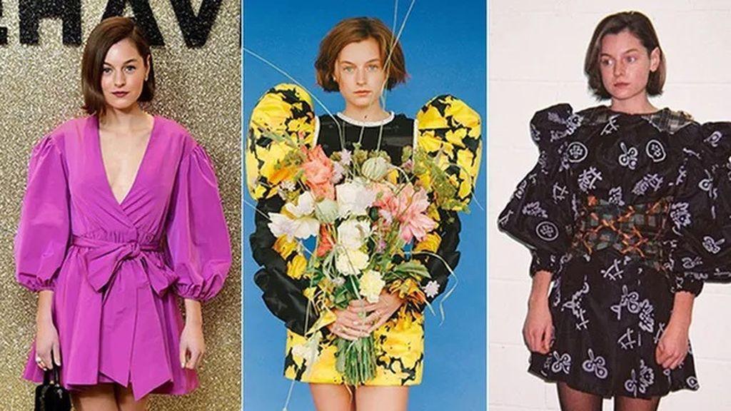 Vestidos de Valentino, Fendi y Chopova Lowena