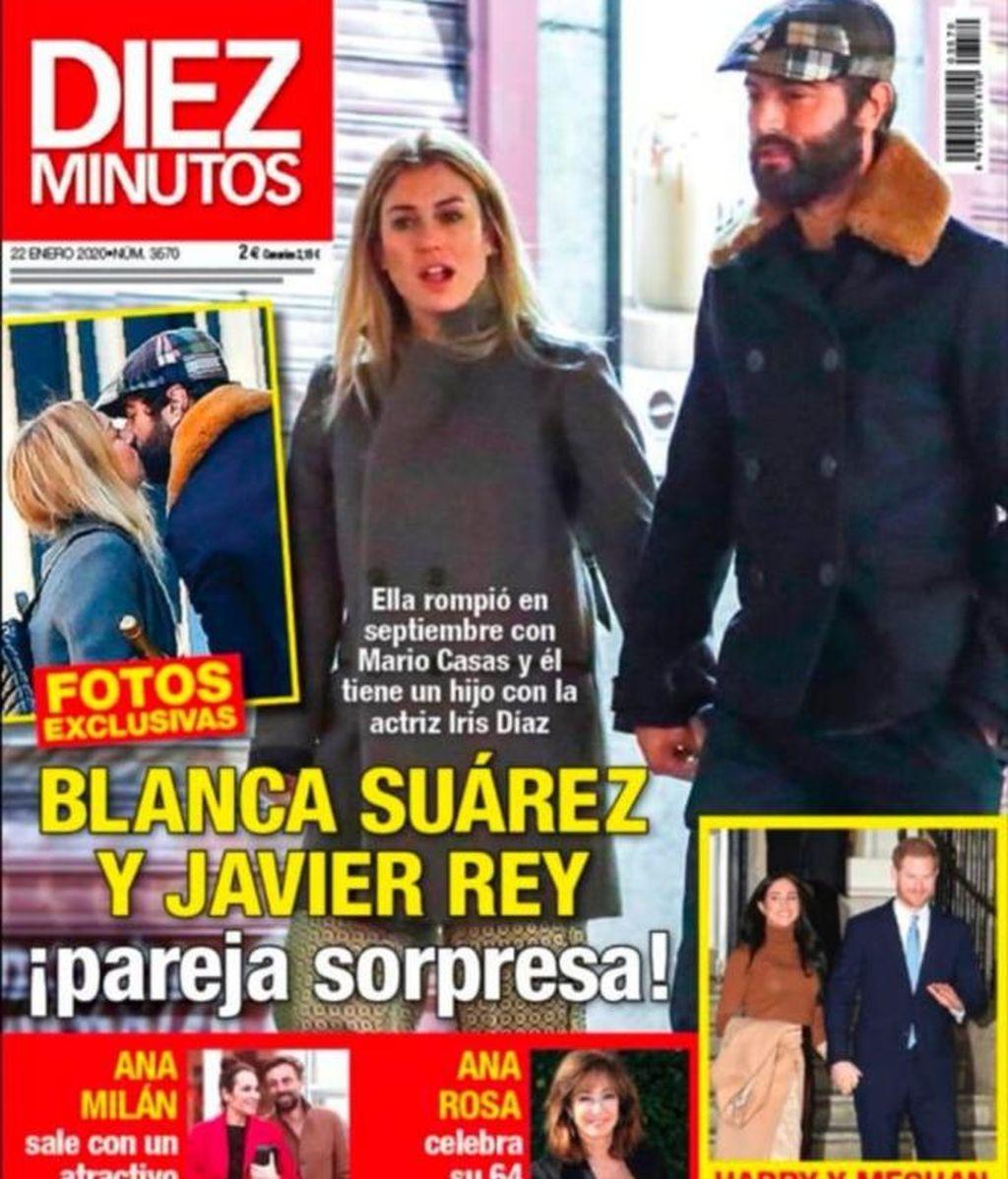 La portada que hizo oficial la relación de Blanca con Javier Rey