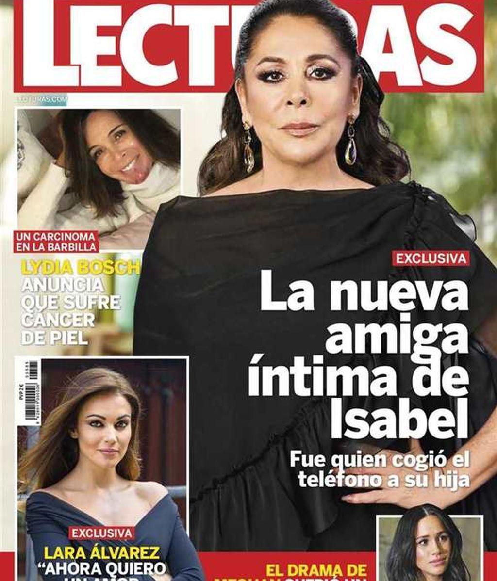 Isabel Pantoja, en la portada de Lecturas