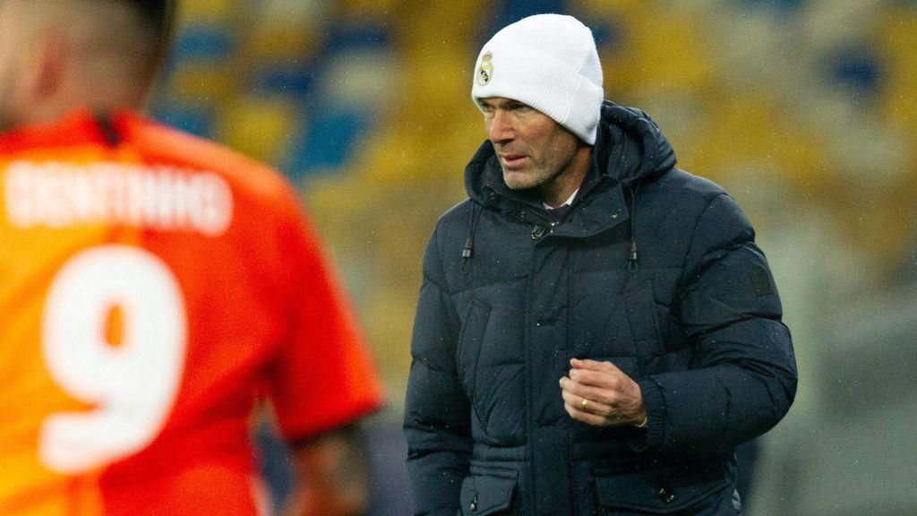 Zidane atraviesa su peor momento en el Real Madrid.