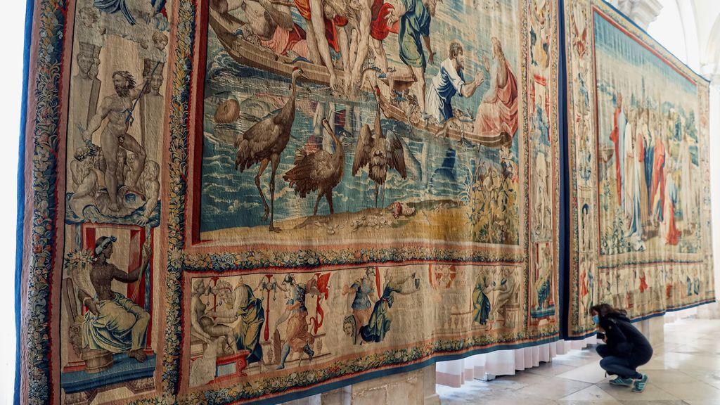 Las maravillas de Rafael y Miguel Ángel para la Capilla Sixtina llegan al Palacio Real de Madrid