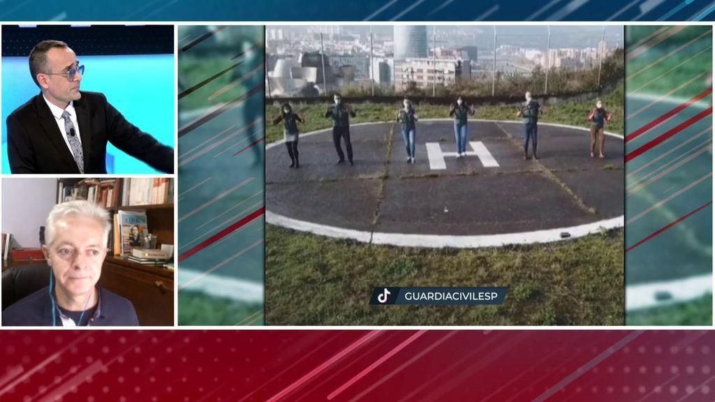 Risto se enfrenta al sector crítico de la Guardia Civil con el vídeo de 'Tik Tok