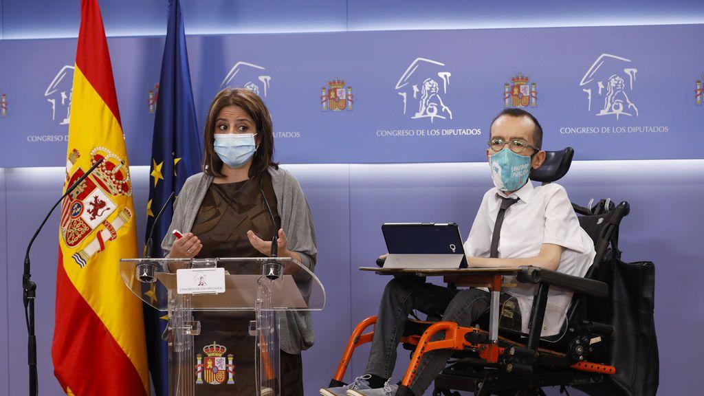 PSOE y Podemos proponen limitar al Poder Judicial mientras esté en funciones