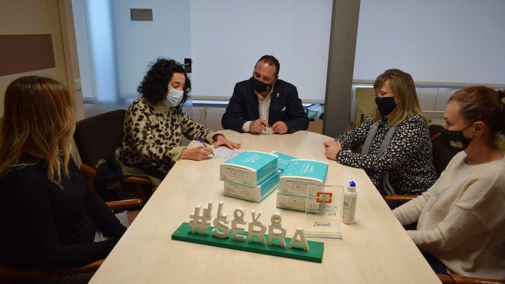 Serranillos del Valle hará test de saliva a pesar de no estar autorizados