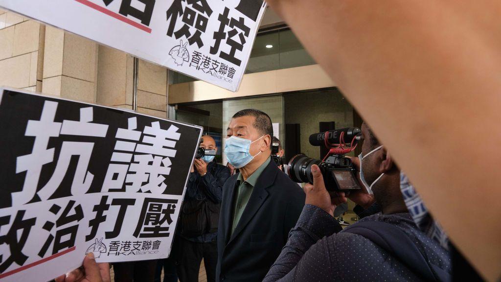 Hong Kong decreta prisión preventiva contra el magnate de los medios Jimmy Lai, acusado de fraude
