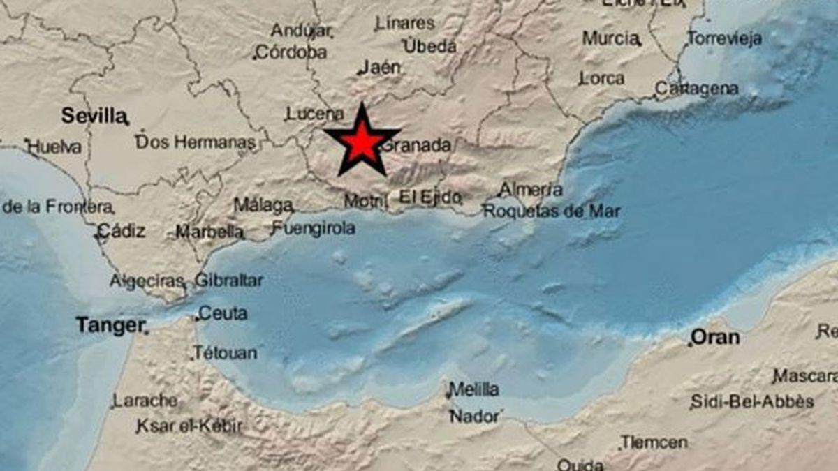 Un terremoto de 3,6 grados de magnitud se registra en Pinos Puente (Granada)