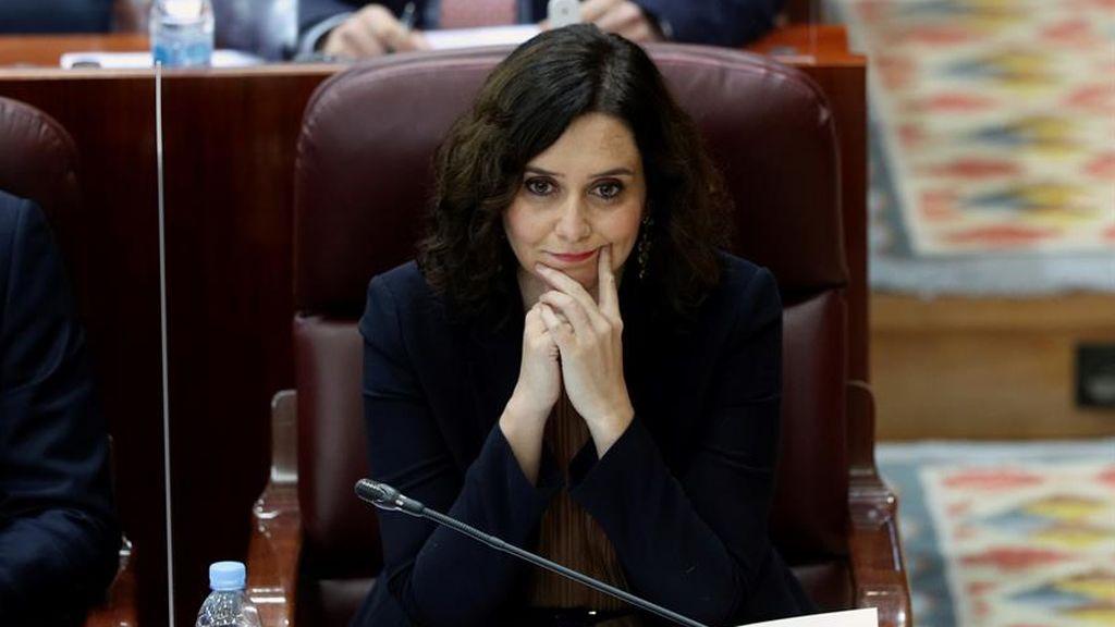 """Ayuso  acusa al independentismo  de """"robar"""" y """"odiar"""" a Madrid"""
