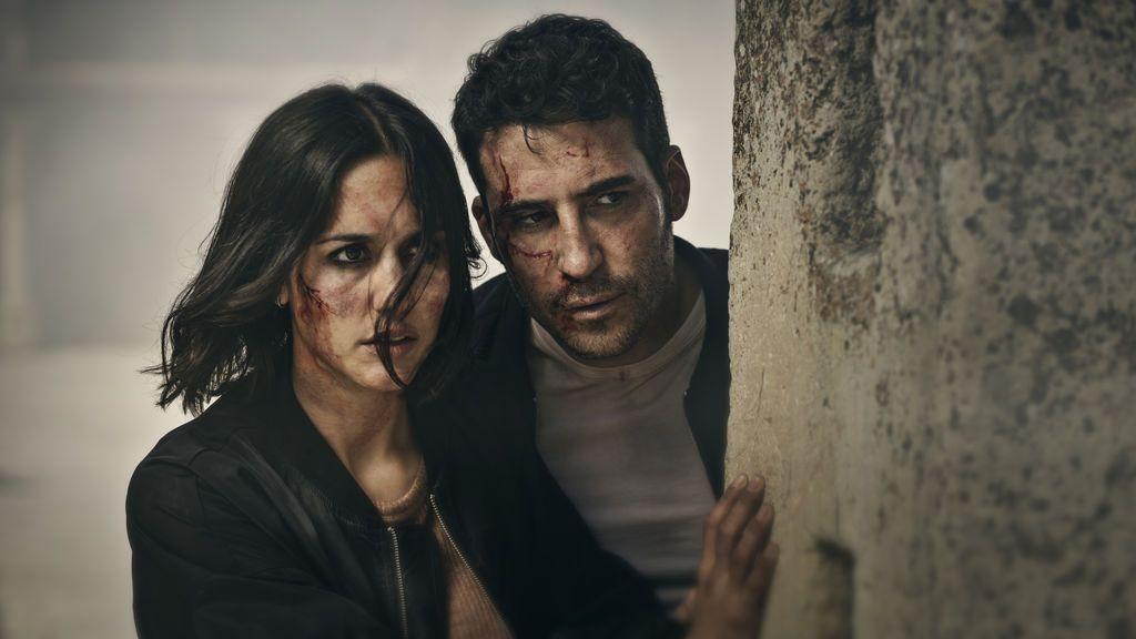 Megan Montaner y Miguel Ángel Silvestre, dos de los protagonistas de la serie