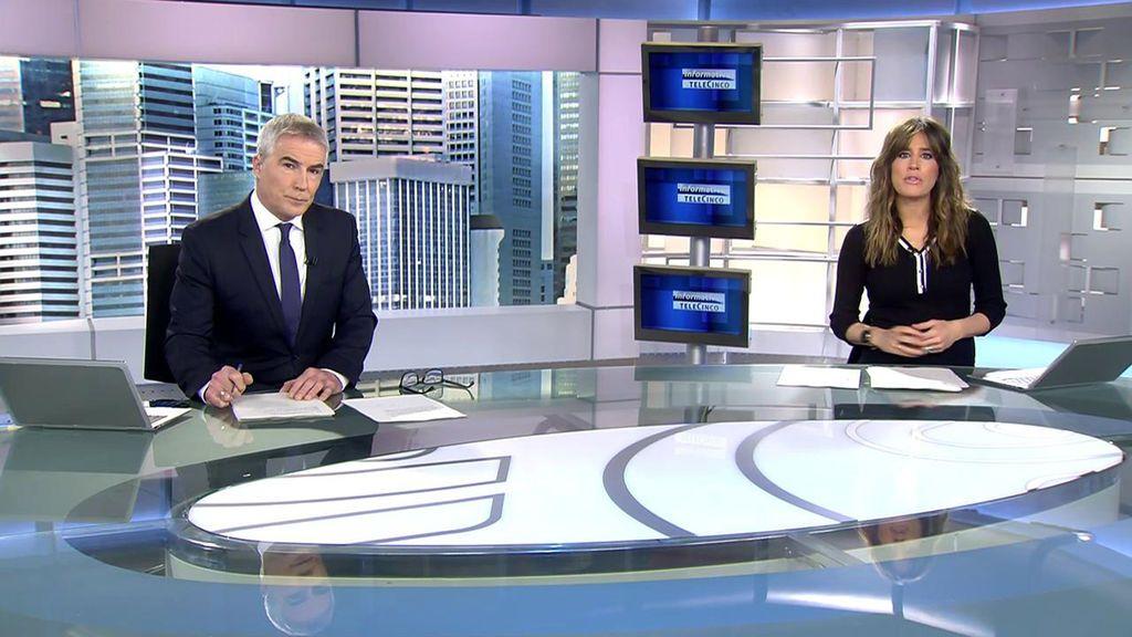 Con Isabel Jiménez y David Cantero Informativos Telecinco 2020 Mediodía 03/12/2020