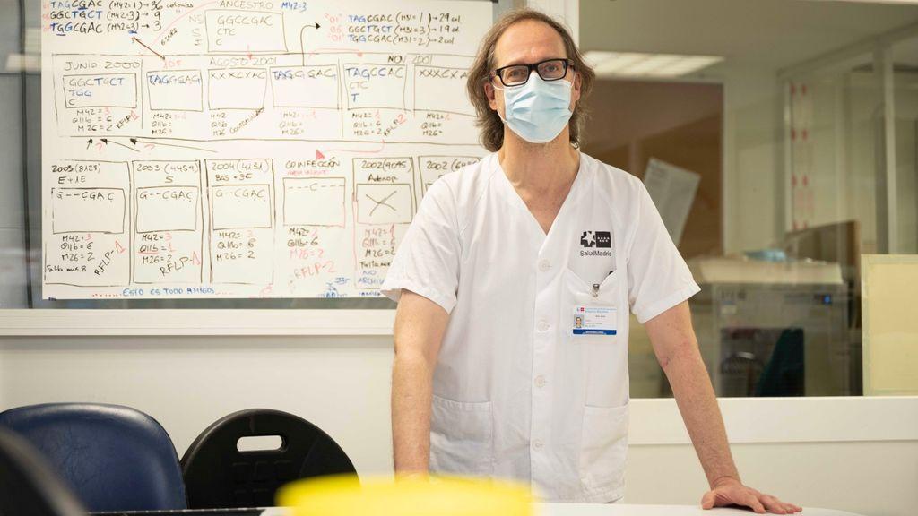 """Darío García, el Sherlock Holmes del coronavirus: """"Hemos averiguado qué mutación contagia en Madrid en cada momento"""""""