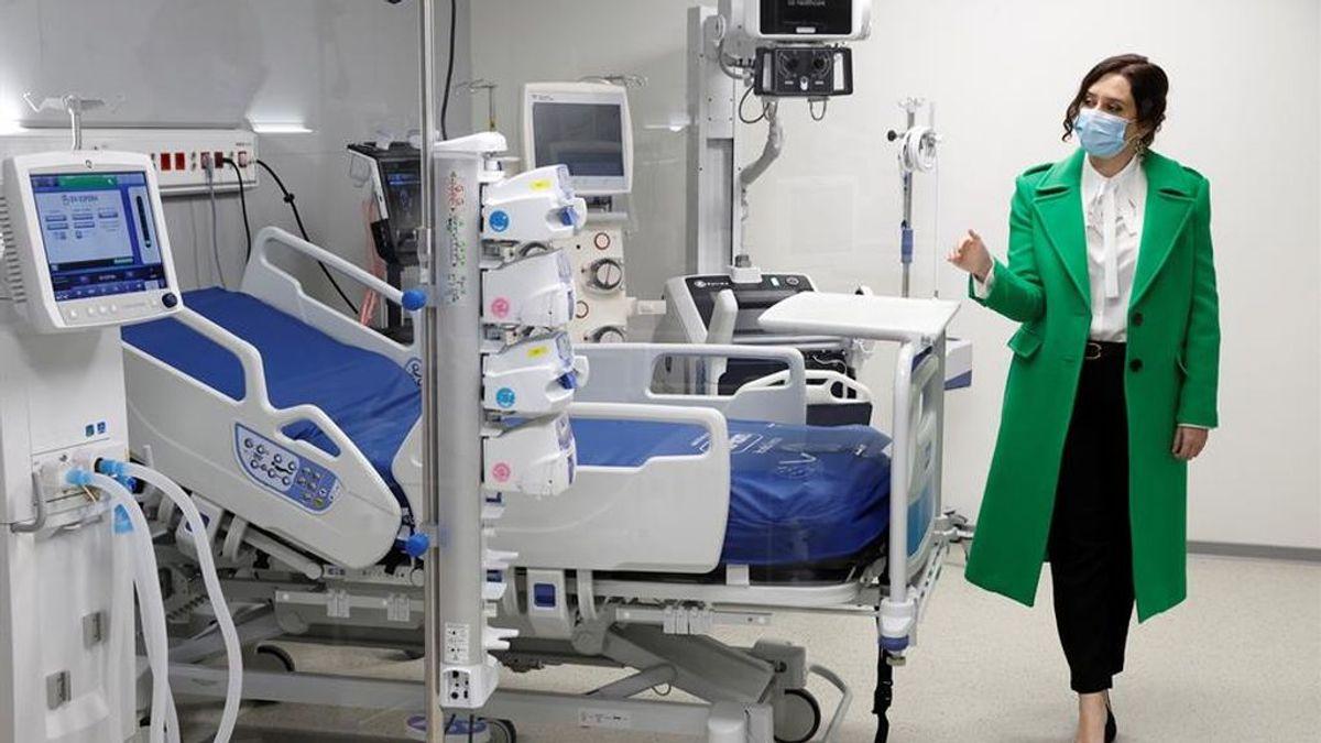 El hospital Isabel Zendal abierto sin pacientes ni quirófanos