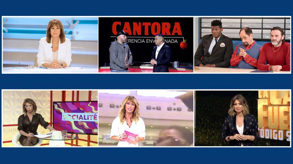 Telecinco suma 27 victorias con el liderazgo de noviembre a 3 puntos de su rival y con la oferta de entretenimiento más vista