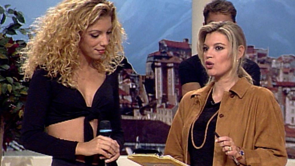 Rebeca se sinceró con Terelu y demostró capacidad pulmonar en su debut en Telecinco