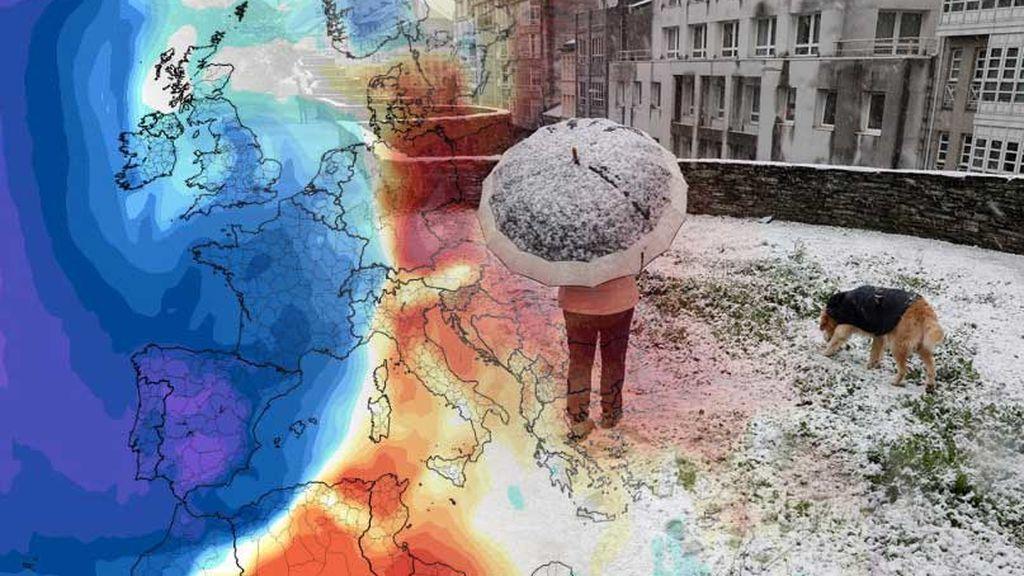 La borrasca Dora no viene sola: una masa de aire ártico irrumpe el viernes en España