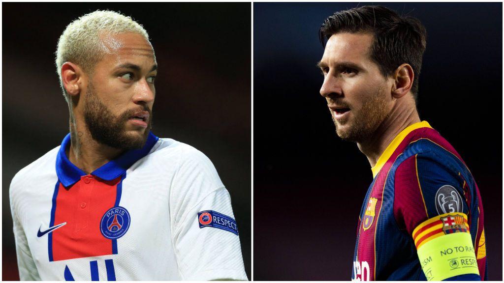 Neymar quiere jugar con Messi el próximo año.