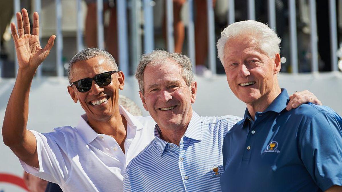 Frente al escepticismo, madurez: Bush, Clinton y Obama se pondrán la vacuna en público