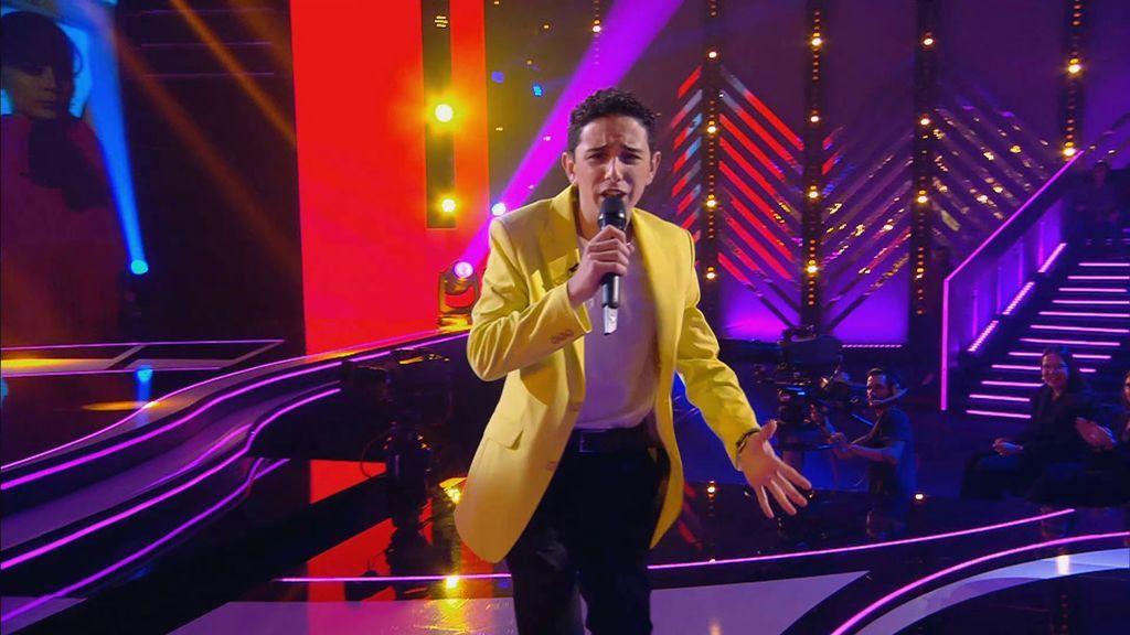 La actuación de Adrián en la final
