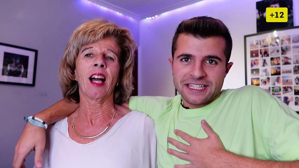La madre de Iban García reacciona a las citas de su hijo (1/2)