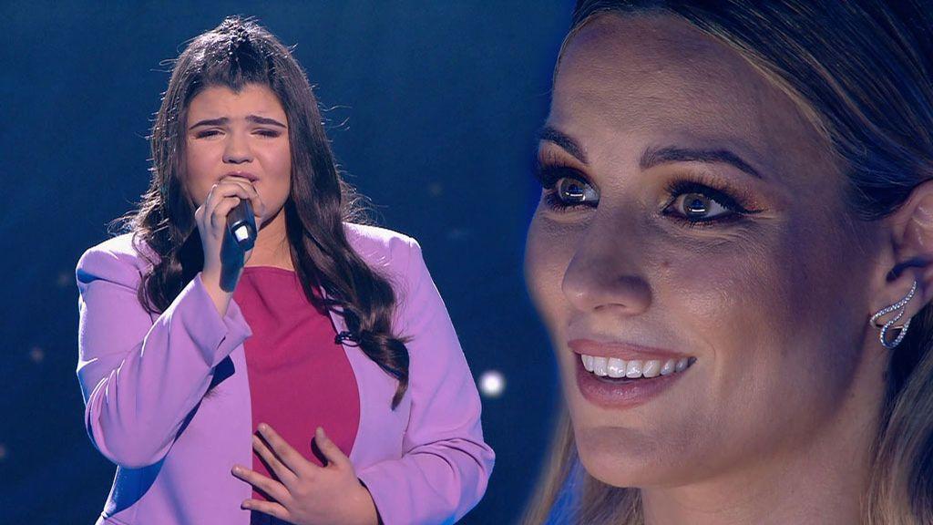 La actuación de Sara en la final