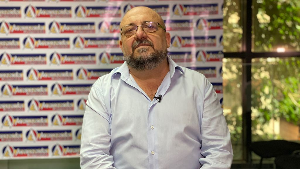 Bruno Gallo, candidato en la lista de Avanzada Progresista en las elecciones parlamentarias del 6 de diciembre en Venezuela