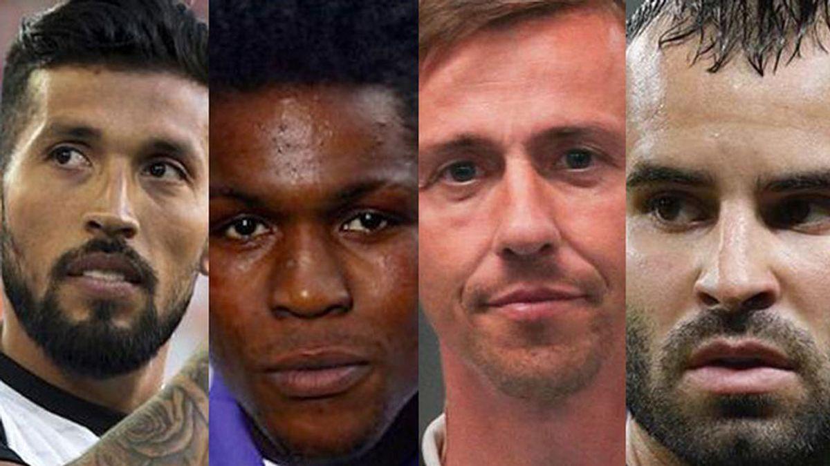 Jesé no es el único: otros futbolistas que intervinieron en directo en programas de Telecinco