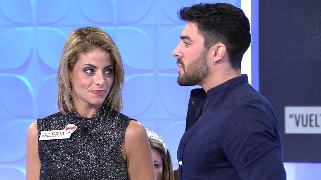 """La llegada de Valeria revoluciona a Josué: """"Si la hubiera conocido fuera, no habría entrado al programa"""""""