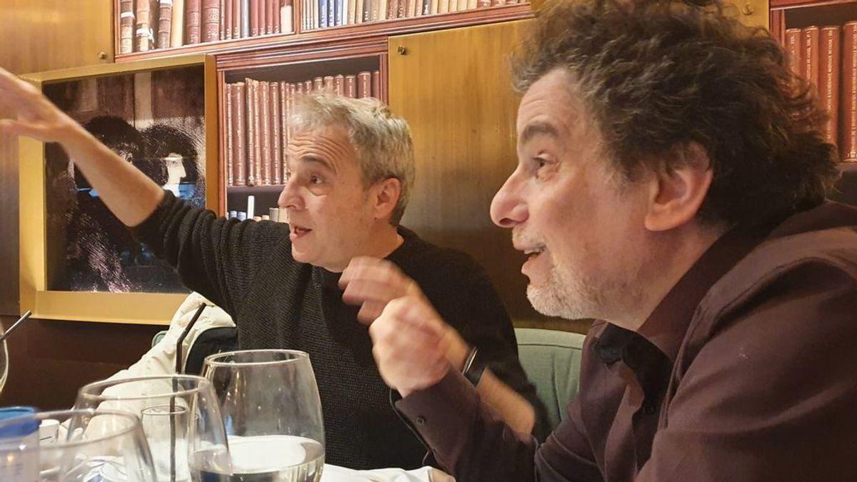Dos artistas y un cocido: así fue el reencuentro entre Calamaro y David Summers