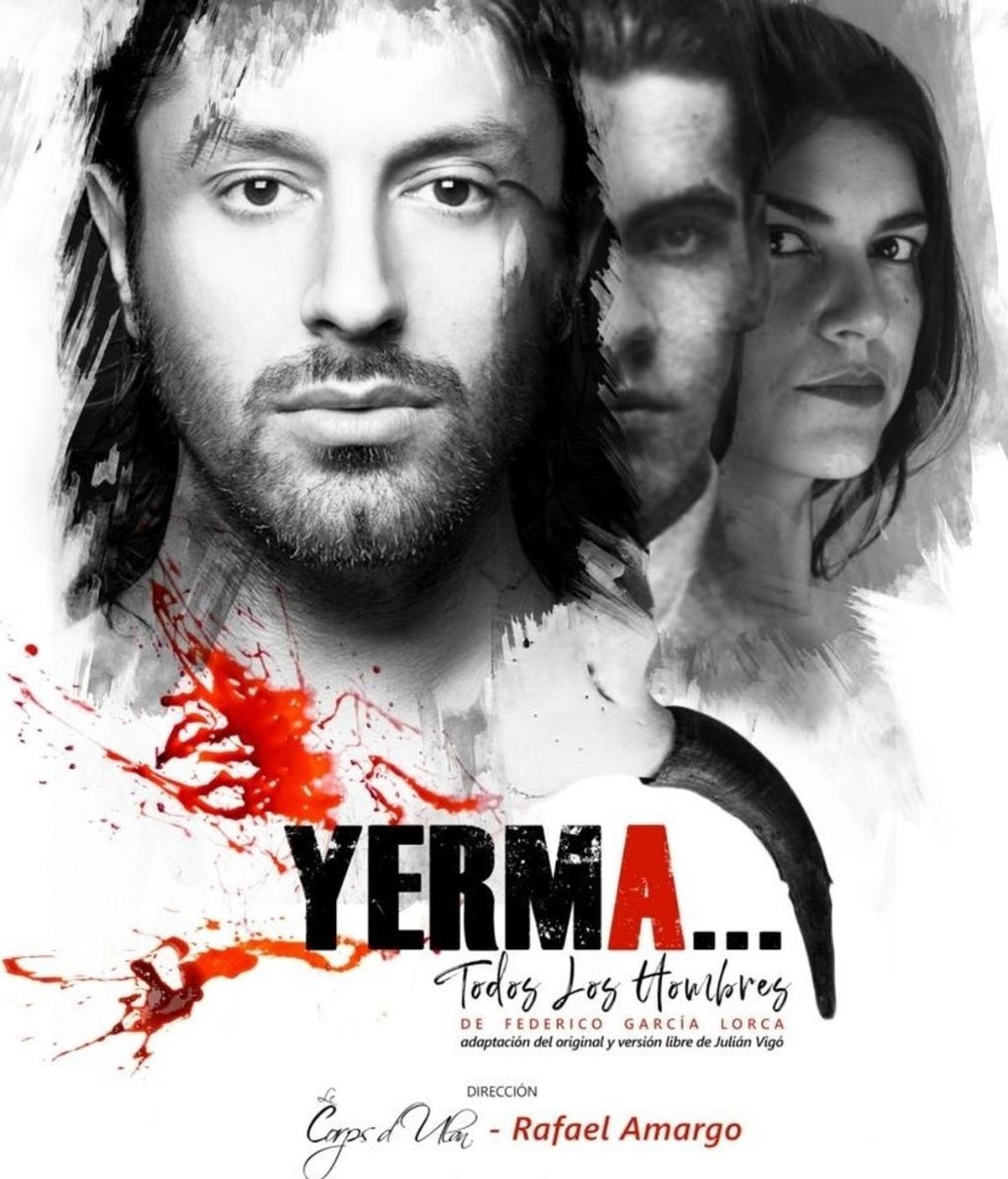 """Se aplaza a mañana el estreno de """"Yerma"""", de Rafael Amargo"""