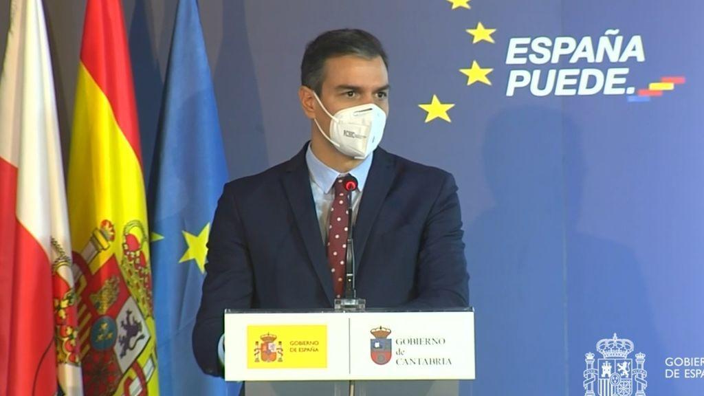 Sánchez irá al Congreso antes de Navidad y dice que España ha salido de la alerta extrema de covid
