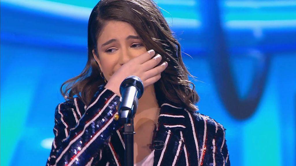 La actuación de Marta en la final