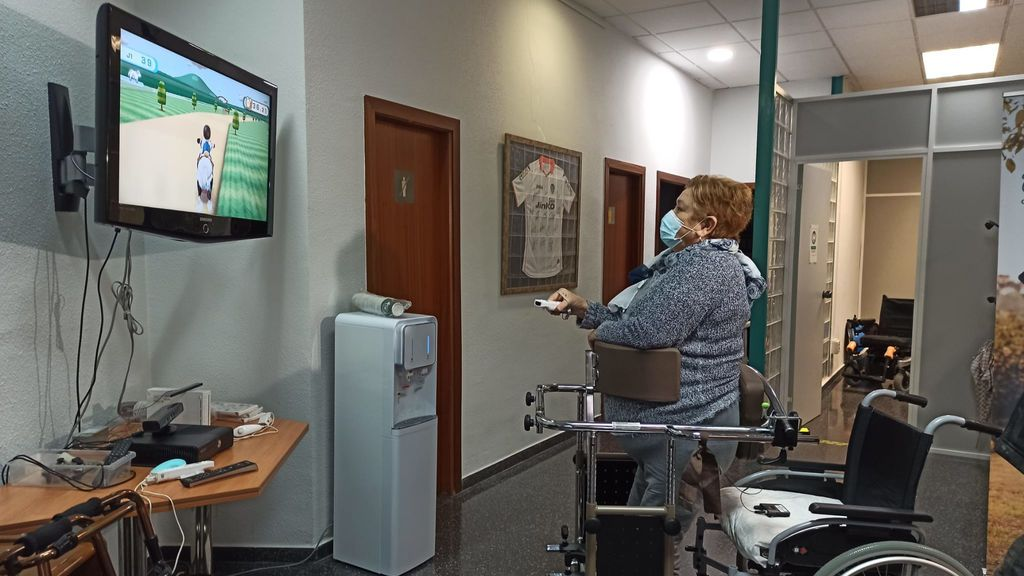 Mujer silla ruedas