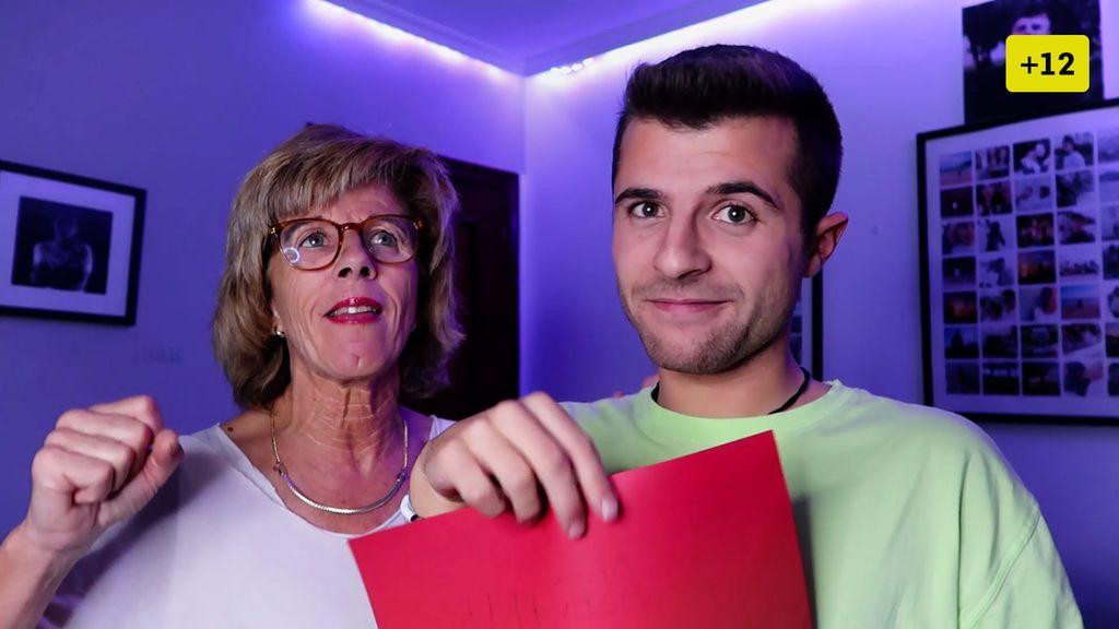 La madre de Iban García reacciona a las citas de su hijo (2/2)