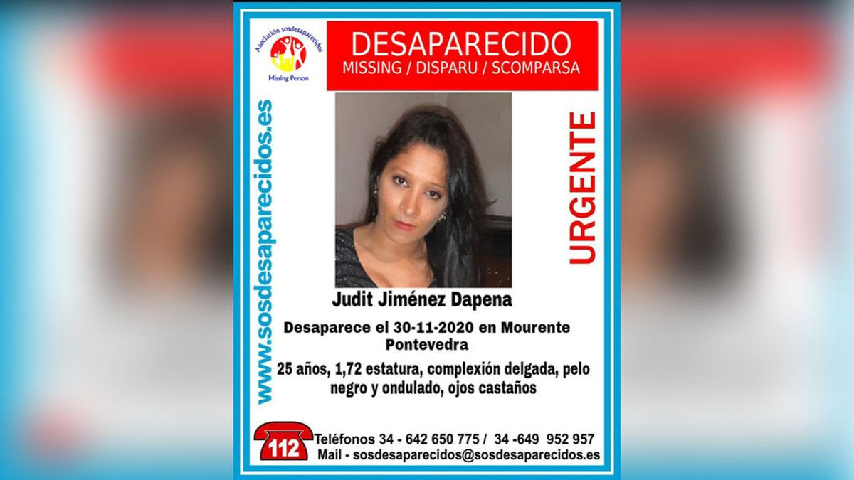 Buscan a Judit Jiménez, una joven de 25 años desaparecida en Pontevedra