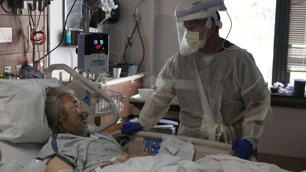 La pandemia se dispara en EEUU con récord histórico de contagios y dos muertos cada minuto por coronavirus