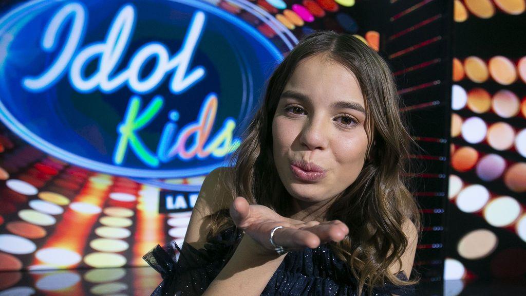 Índigo tras ganar Idol kids