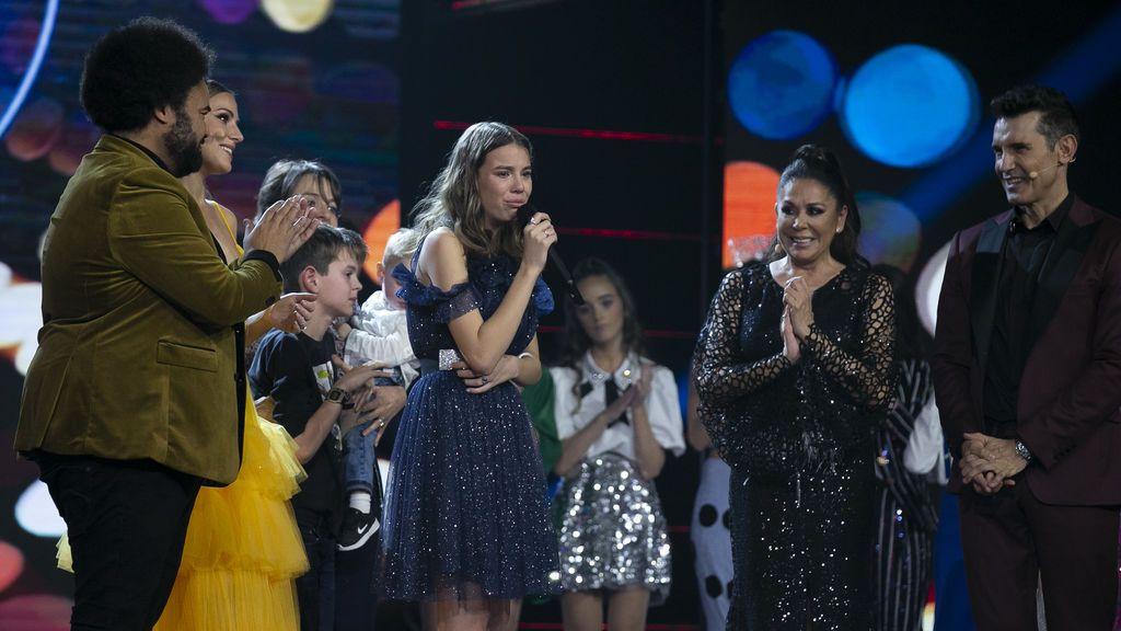 Índigo gana la primera edición de 'Idol kids'