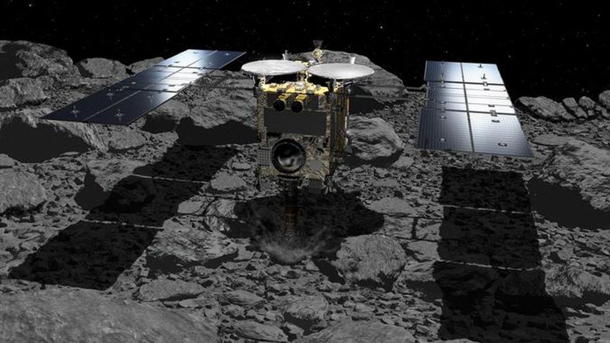 Una sonda japonesa traerá a la Tierra muestras de un asteroide que ayudarían a explicar el origen de la vida