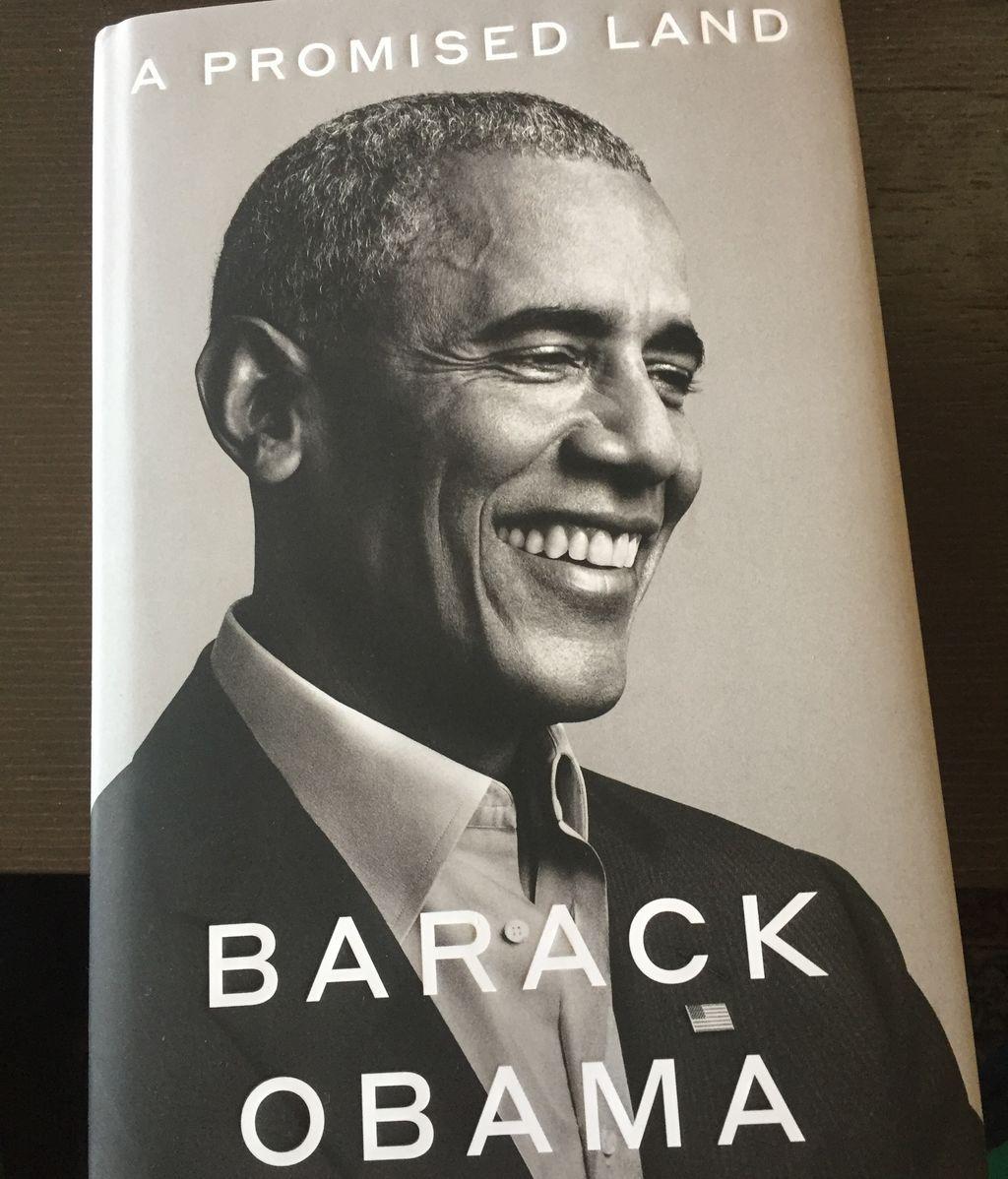 Una Tierra Prometida, Barack Obama