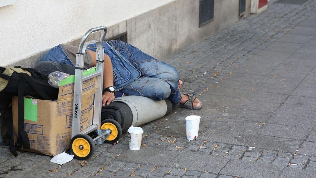 Muere un 'homeless' que estaba siendo atendido por los servicios sociales en Villalba