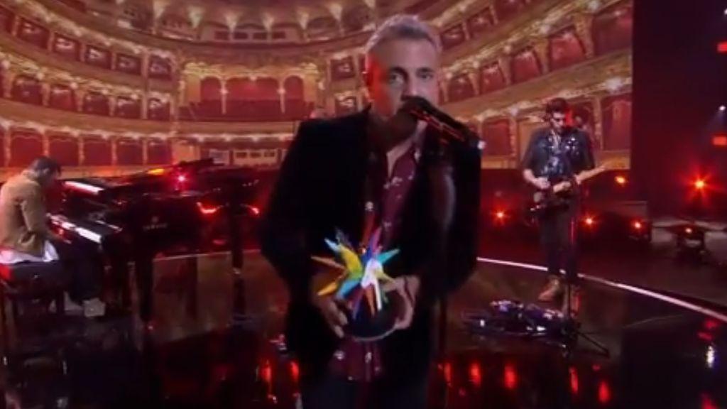 El emotivo homenaje a Pau Donés en la gala de Los40 Music Awards