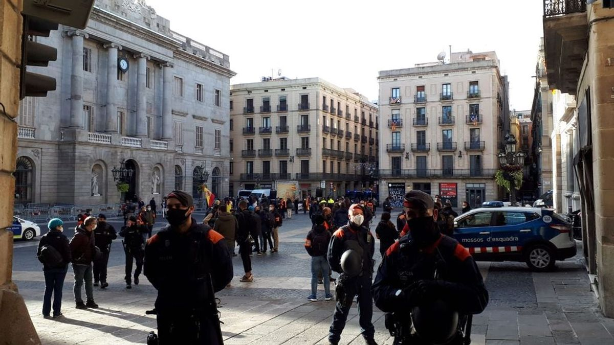 Dos detenidos en Barcelona por saltarse la orden judicial de no ir a manifestaciones