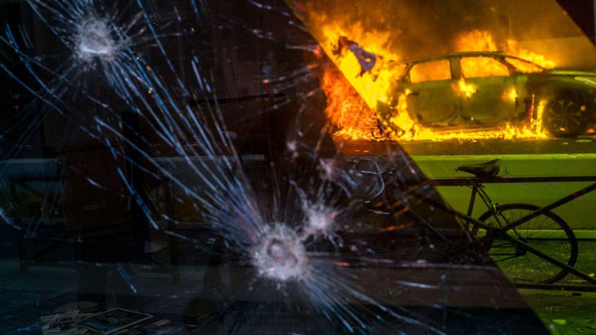 Al menos 95 detenidos y 67 policías heridos tras los últimos disturbios en Francia sobre la Ley de Seguridad