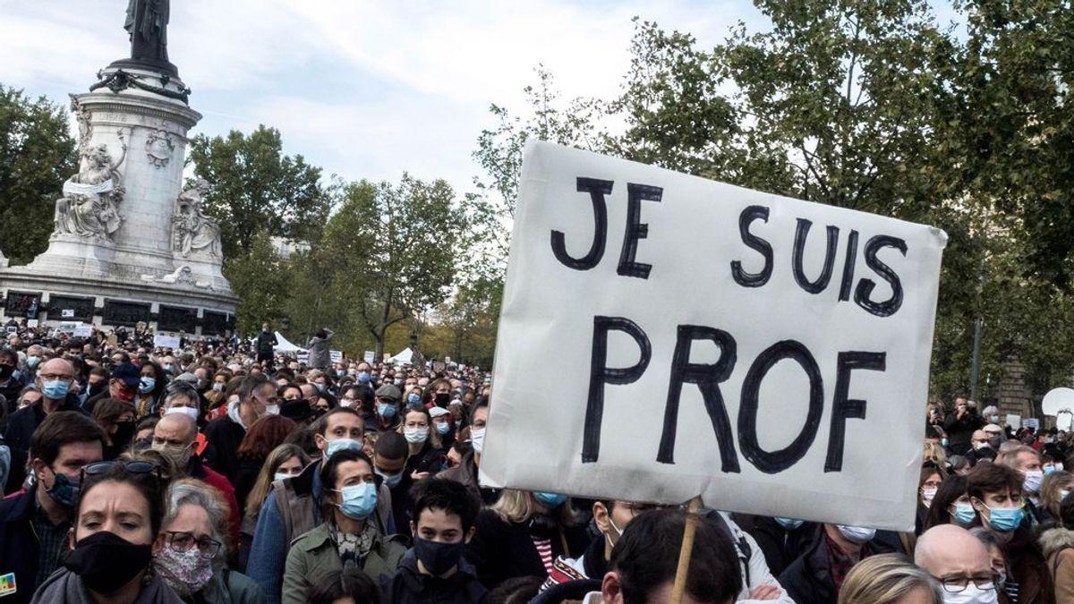 Unas 200 personas acuden al funeral en Chechenia del autor del asesinato del profesor francés Samuel Paty