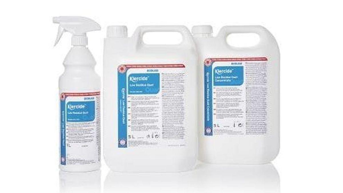 Los desinfectantes eficaces contra el covid-19 no tienen siempre que contener alcohol