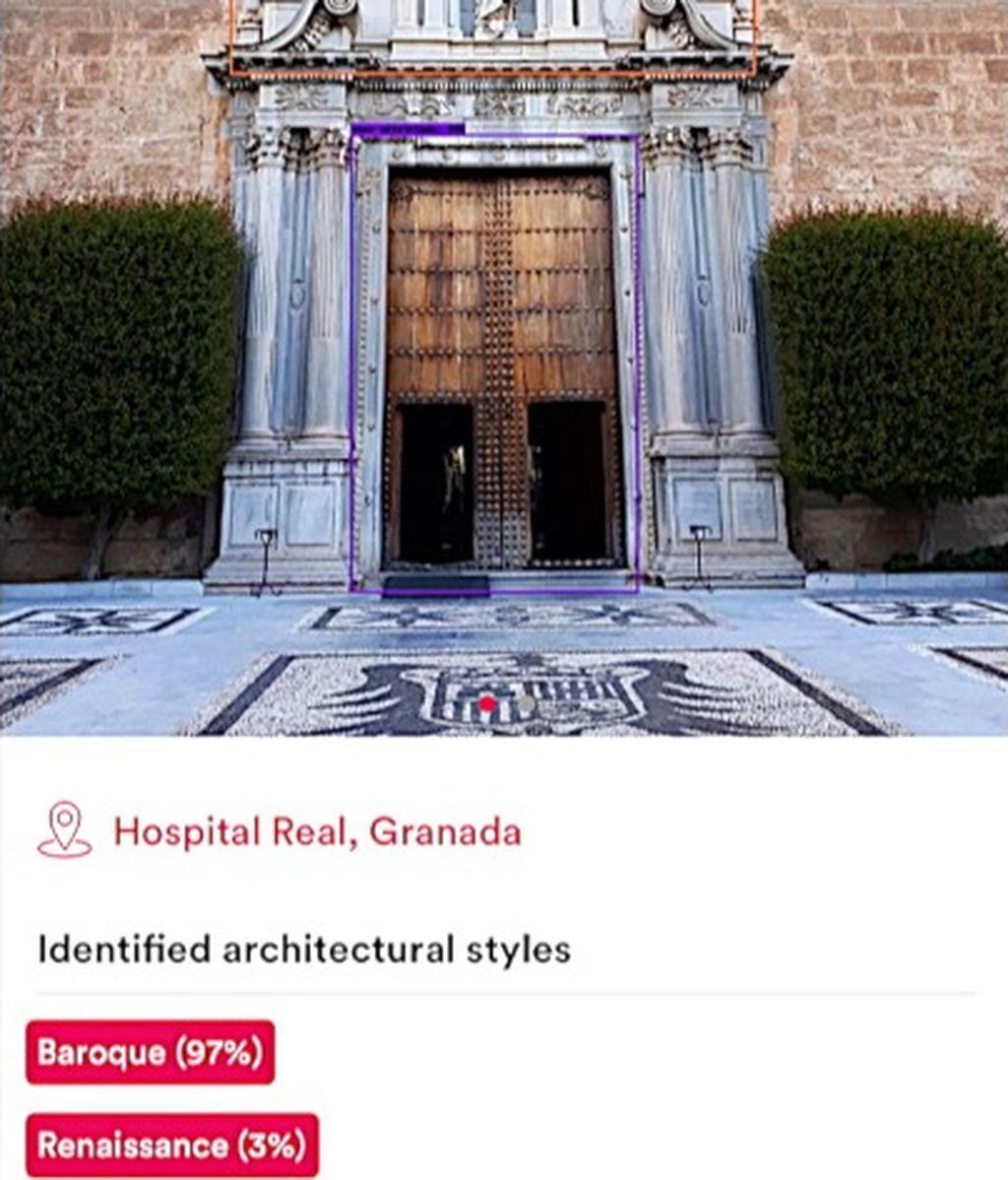 La fachada del Hospital Real de Granada analizada por MonuMai